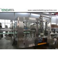 Wholesale 330ml Beverage Filling Machine , PET Bottle Washing Filling Capping Machine 3.8KW from china suppliers