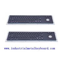 Wholesale Industrial Black Metal Keyboards For Gaming Machine , Brushed Surface from china suppliers