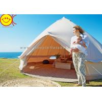 Wholesale Comfortable Outdoor Canvas Bell Tent 100% Waterproof Cotton Camping Tent from china suppliers
