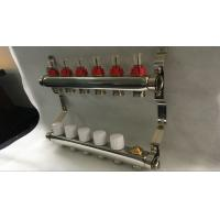 Quality Pex Radiant Heat Manifold With Italy Style Meter , Water Supply Manifold for sale