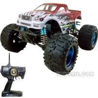 Wholesale RC Gas Car - 1:8 Scale 28 Engine Powered 4WD Monster Truck (RCH58200) from china suppliers