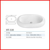 Quality china 2016 new products ceramic countertops bathroom cabinet basin for sale