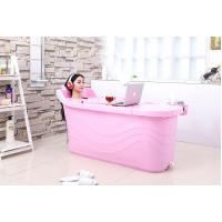 Buy cheap SGS test passed PP5 material Plastic Bathroom Bathtub from wholesalers