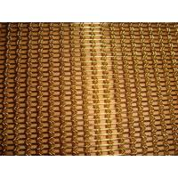 Wholesale Braid Woven Architectural Mesh for Facade Cladding,Brass Decorative Cable Rope Woven Mesh from china suppliers