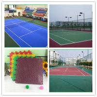 Wholesale Rubber Sheet Tennis Court Flooring Mat Flat For Outdoor from china suppliers