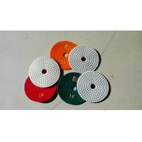 Wholesale 3 Steps Dry Diamond Polishing Pads Special OEM For Dry Polishing from china suppliers
