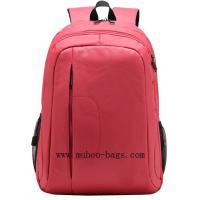 Wholesale Fashion Pink nylon Computer backpack Laptop Bag for Business (MH-2054) from china suppliers