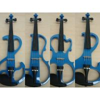 Wholesale Customized Blue Solid Wood Full Size Student Violin With Case / Bow AGV-EI from china suppliers