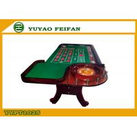 Wholesale Green Poker Game Table With Roulette Gambling Casino Roulette Table from china suppliers