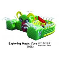 Wholesale Exploring Magic Cave Inflatable Plagroungd Equipment With Small Slide For KIds from china suppliers