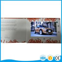 Wholesale Printing 5 Inch Lcd Video Brochure Card For Business Promotion Or Wedding Gift from china suppliers