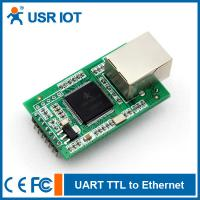 Wholesale [USR-TCP232-E] Dual Serial port TTL to Ethernet module with DHCP/WEB/Mudbus TCP from china suppliers
