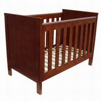 Wholesale Good quality New Zealand solid wooden baby crib baby cot baby bed from china suppliers