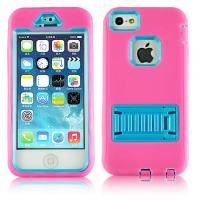 Wholesale Otterbox Defender Case Blue Plastic & Silicon Combo Case With Holder For iphone 5s from china suppliers