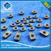 Wholesale high quality solid carbide milling cutter for stainless steel /milling and turning carbide inserts APMT /APK from china suppliers