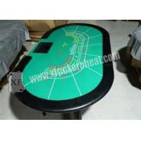 China Luxury Texas Holdem Poker Card Games Casino Gaming Baccarat Table on sale