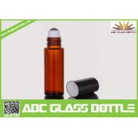 Wholesale 10ml Amber Glass Roll On Bottle For Perfume Use from china suppliers