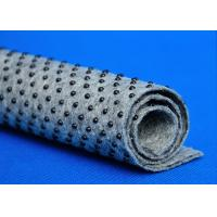 Quality Round Dotted Nonwoven Fabric For Carpet , Carpet Felt Underlay eco friendly for sale