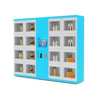 Wholesale Electronic Lockers Drink Vending Machines For Beverage / Wine / Drink Water from china suppliers