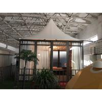 Wholesale Glass Marquee Prefab Resort House Hotel Outdoor Camping Tents Luxury 5m * 5m from china suppliers