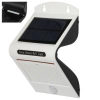 Wholesale Waterproof 20LED Solar outdoor motion sensor Lighting with 1pc 2200mah battery , NO need electricity from china suppliers