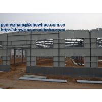 Wholesale good stiffness workshop steel structure building warehouse from china suppliers