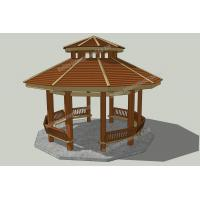 Wholesale WPC patio gazebo ideas OLDA-6010 22.2ft.*23.3ft.*20ft. from china suppliers