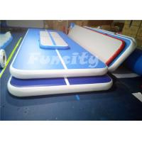 Wholesale Durable Jumping Inflatable Air Gymnastics Balance Beam With 0.6mm Pvc Tarpaulin from china suppliers