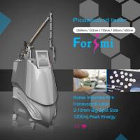 Quality Fda Approved Nd Yag Tatoo Removal Laser Picosecond Machine For Sale for sale