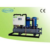 Wholesale Danfoss Open Type Commercial Chiller Units , 10.2KW - 156KW Water Cooling Water Chiller from china suppliers
