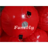 Quality 3M Length 0.5m diameter Red Color  Waterproof  Floating Water Tube for Water park  Enclosure for sale