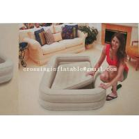China intex inflatable air bed with frame for kids on sale