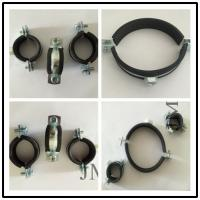 Quality Residential Facilities Application Pipe Support Clamps / Cushioned Pipe Clamp for sale