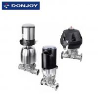 Wholesale Position Sensor Pneumatic Diaphragm Valve With Forging Casting Stainless Steel 316L from china suppliers