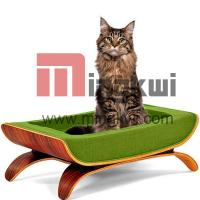 China The Case Study Pet Bed wood pet beds for online pet store on sale