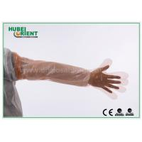 Wholesale LDPE Disposable Plastic Arm Sleeves For Slaughtering / Food Processing , Eco - Friendly from china suppliers