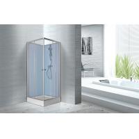 Wholesale Fitness Halls 800 X 800 X 2250mm Glass Shower Stalls With Silver Aluminum Frame from china suppliers