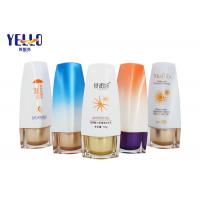 Wholesale Fancy Cosmetic Set Sun Cream Bottle  With Screw Cap  PE Plastic Material from china suppliers