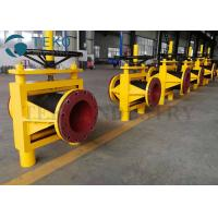 Wholesale High Strength Properties Open Body Slurry Hose Pinch Valves With Gear Operation from china suppliers