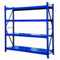 Wholesale Medium Duty Industrial Steel Storage Racks 500kg/Layer , Commercial Warehouse Shelving from china suppliers