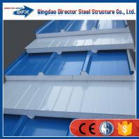 Sandwich panel exterior colored wall paneling