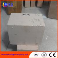 Wholesale AZS 33 Zirconia Corudum Fire Clay Bricks For Glass Furnace , High Strength from china suppliers