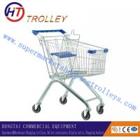 Wholesale Walmart Steel Wire Grocery Store Shopping Cart With Custom Logo European Style from china suppliers