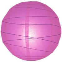 "Wholesale Plain Colors Hanging Paper Lanterns 12"" - 16"" Pink Paper Lanterns from china suppliers"