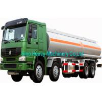 Wholesale SINOTRUK HOWO 38000L Water Tanker Truck 8X4 in Red with 380HP from china suppliers