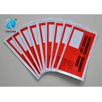 Wholesale Customized America flag Self adhesive Pressure Sensitive Packing list Envelopes from china suppliers