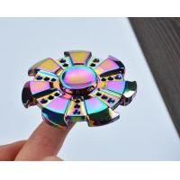 EDC New Colorful Fire wheel fidget hand spinner, decompression fidget spinner toys factory price