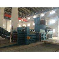 Wholesale PLC Control Plastic Baling Machine Customized Hydraulic Driven Type from china suppliers