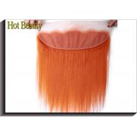 Wholesale Soft Orange Lace Top Closure Hair Piece 4 * 13 Inch No Chemical Full Cuticle Aligned from china suppliers