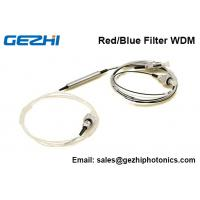 Wholesale C band DWDM Red/Blue Filter WDM device 3 Port  Thin Film Filter FWDM from china suppliers
